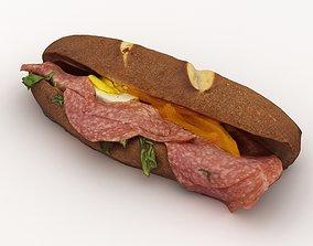 3D Sandwich ham