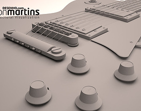 Les paul Guitar 3D model