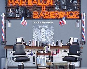 Barber Shop 3D