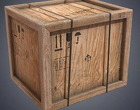 Crate industrial transport 3D asset
