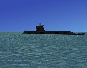 Collins Class HMAS Sheean 77 3D model