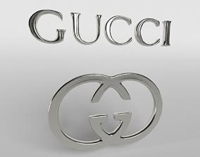 Gucci Logo 02 3D asset