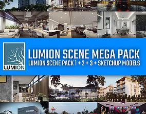 Lumion Scene Mega Pack - 36 Lumion and Sketchup 3D