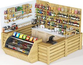 Cafe Restoran 3D model
