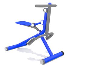 Kid Play Fitness 3D model VR / AR ready