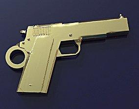 Colt pendant 3D print model