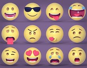 3D model Emoji - Emoticons Pack
