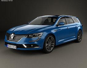 3D renault Renault Talisman estate 2016