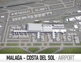 Malaga - Costa del Sol Airport - AGP 3D model
