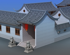 3D model Chinese Architecture 14