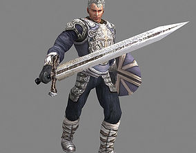 Royal Warrior 3D model