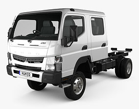 Mitsubishi Fuso Canter FG Wide Crew Cab Chassis Truck 3D
