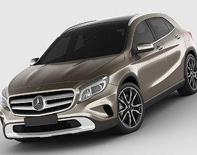 3D model Mercedes GLA