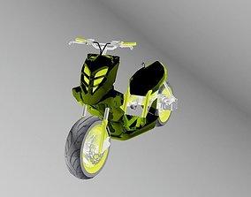 3D model mbk stuntro