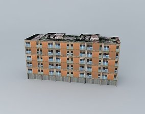 Caprag building 3 of 3 3D model