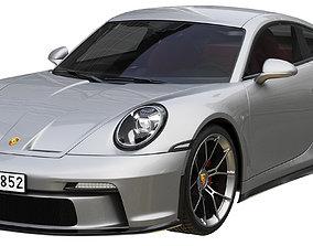 3D model Porsche 911 GT3 Touring 2022
