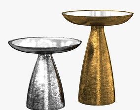 3D gold Evan Side table