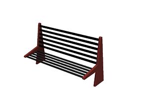 Bench modern 3D print model