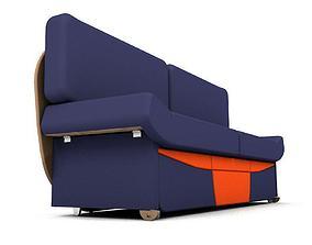 3D asset Sofa Easy Smart 3 in 1