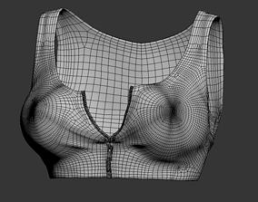 3D model hoodie top design