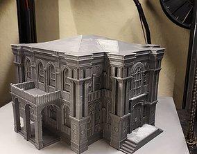 Historical mansion 3D Printable model