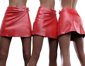 3D model Oriental Vinyl Skirt