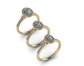 Jewelry Rings NINE RINGS 029 3D printable model