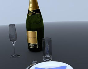 3D model Table serving