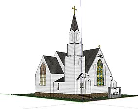 Architecture-Religion-God-Culture-Temple-0144 3D model