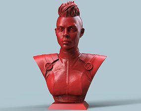 Storm Bust 3D printable model superhero