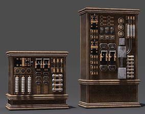 3D model Electric Elements Generator Power