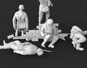 soldiers 3D printable model