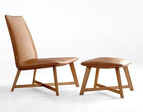 3D model Jardan Iko Iko armchair