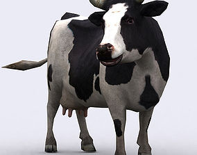 animated realtime 3DRT - Cow