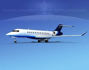 Bombardier Global Express 6000 V16 3D