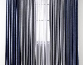 3D Curtain 136