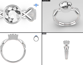 ininity basket ring - very nice 3D print model