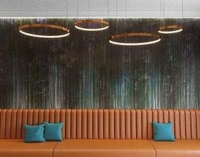 3D Wall Panel Set 107