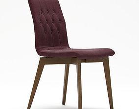 Orebro Side Chair 3D model