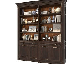 Display Cabinet Classic Style 4 3D model