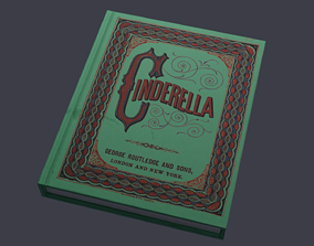 Make it your own coffee table book 3D asset