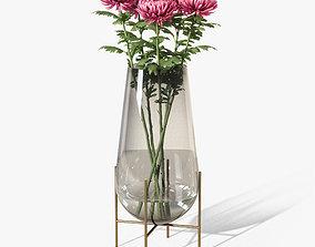 3D echasse vase