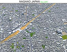3D asset realtime Nagano Japan 40km