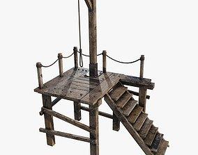 3D model Gallows 1