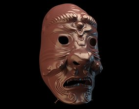 Samurai mask002 3D model