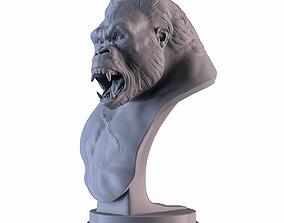 Gorilla Bust 3D printable model