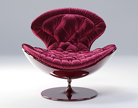 Giovannetti JETSONS armchair HD and 3D asset