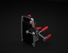 3D Leg Curl Machine