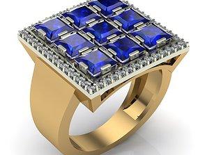 printable rings 3D printable model WOMAN RING