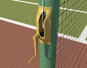 3D asset VR / AR ready Detailed Tennis Court